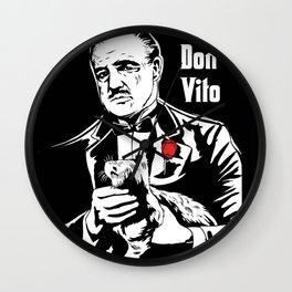 Don Vito Corleone art Wall Clock