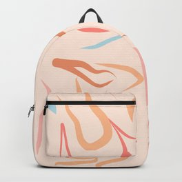 Body Love - line drawing Pattern #Matisse Backpack