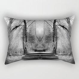 Angel in the Woods Rectangular Pillow