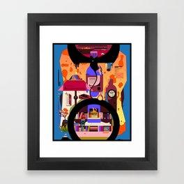 An Evening to Myself Framed Art Print