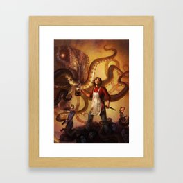 The Mall of Cthulhu Framed Art Print