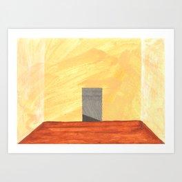 Hallway, Left Art Print