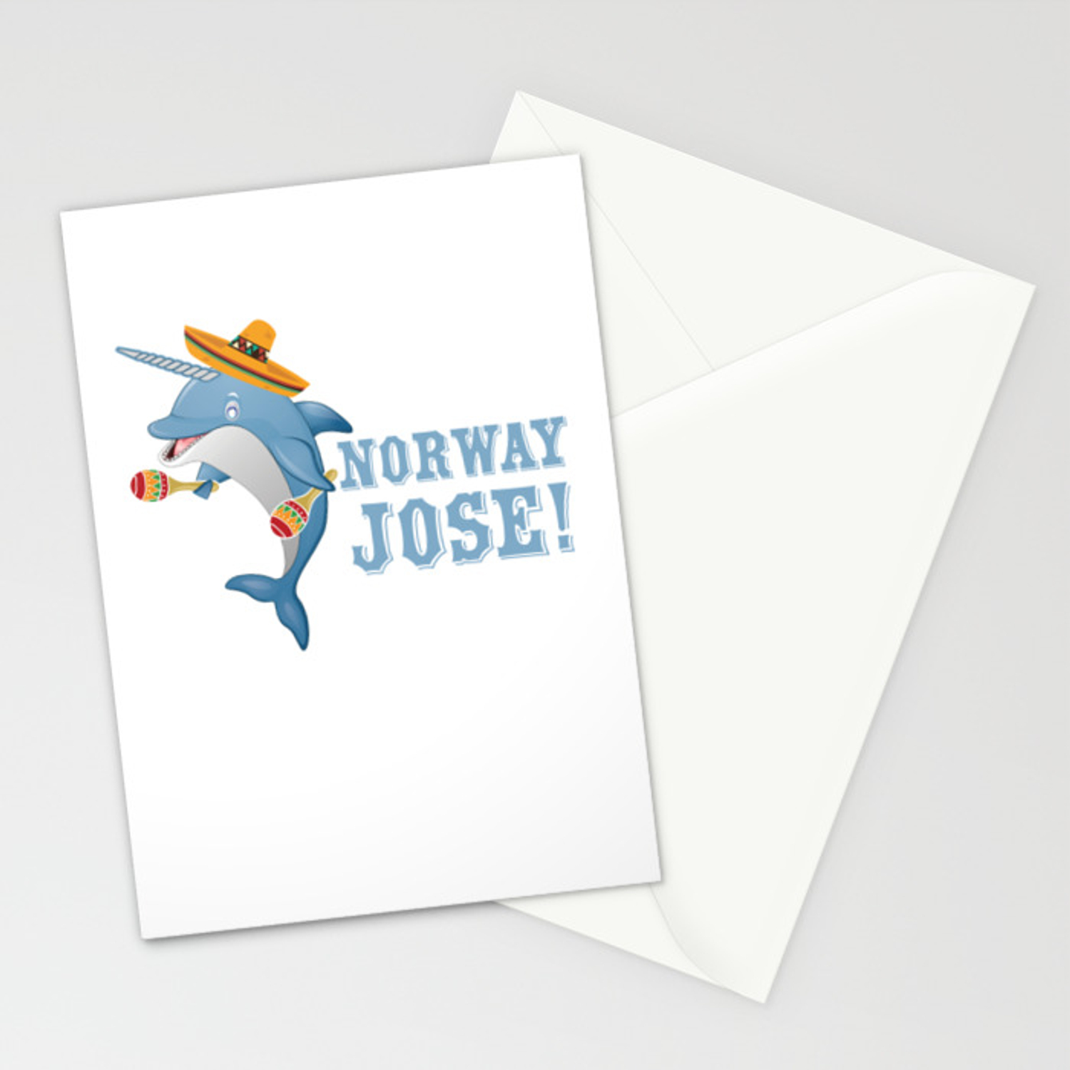 Norway Jose Mexico Mexican Food Tacos Nachos Gift Cinco De Mayo Stationery  Cards by tomgiant