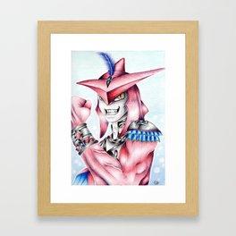 Prince Sidon (Zelda BotW) Framed Art Print