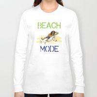 depeche mode Long Sleeve T-shirts featuring Beach Mode by Shimeez