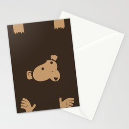 Hanging Monkey Stationery Cards