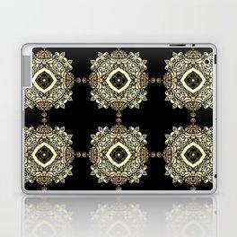 Golden Eastern ornament . Laptop & iPad Skin