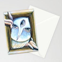 Owl | Night Predator  Stationery Cards