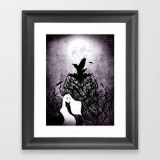 12 crows/ the nest Framed Art Print