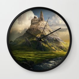Forgotten World: Colosseum Wall Clock