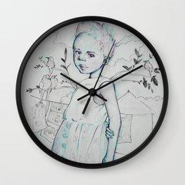 África Wall Clock