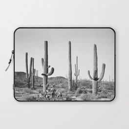 Grey Cactus Land Laptop Sleeve