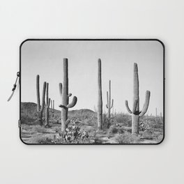 Grey Cactus Land Laptop Sleeve
