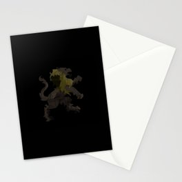 heraldic lion Stationery Cards
