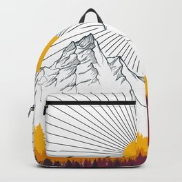 Autumn in the Forest Backpack