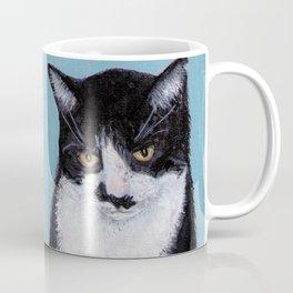 Mustache Cat Coffee Mug