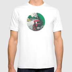 Red Beetle Mens Fitted Tee White MEDIUM