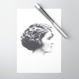 A portrait of Zelda Fitzgerald Wrapping Paper