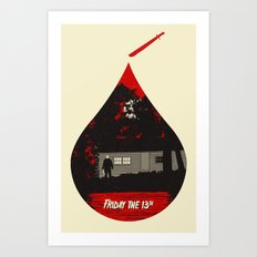 Horror Icons: Friday The 13th Art Print