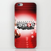scripture iPhone & iPod Skins featuring Bible Scripture by Azeez Olayinka Gloriousclick