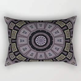 Embroidery beads and beads Rectangular Pillow