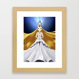 Empress Caeli Framed Art Print