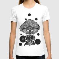mushroom T-shirts featuring Mushroom by AKIKO
