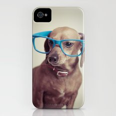 Dogs think they're sooo smart... Slim Case iPhone (4, 4s)