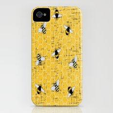 Honey Bees Slim Case iPhone (4, 4s)