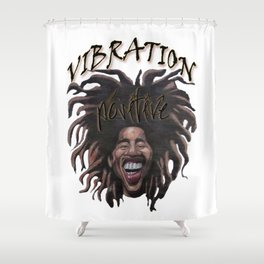 Vibration Positive Shower Curtain