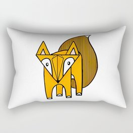 Geo Fox Rectangular Pillow