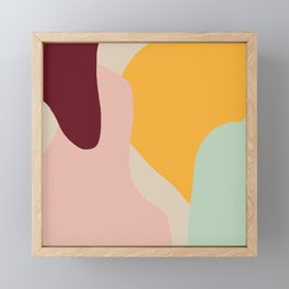 Ziz Abstract Painting Framed Mini Art Print