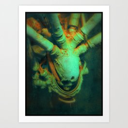 Hypersleep Art Print
