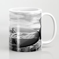 coca cola Mugs featuring Coca Cola  by Chris' Landscape Images & Designs