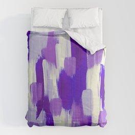 Purple Cora Comforters