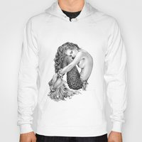 mermaid Hoodies featuring Mermaid by April Alayne