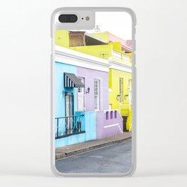 Bo Kaap Neighborhood Clear iPhone Case
