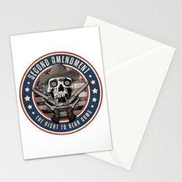 Second Amendment Stationery Cards