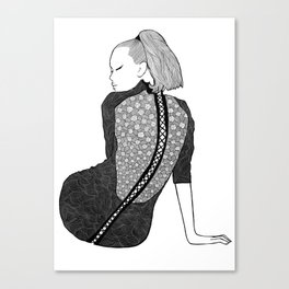 LA FEMME 13 Canvas Print