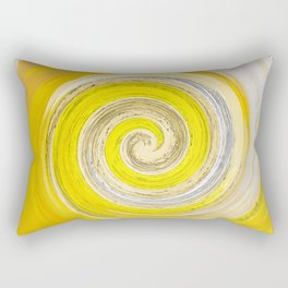 257 - Abstract Spiral Design Rectangular Pillow