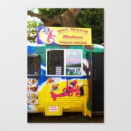 shrimp trucking Canvas Print