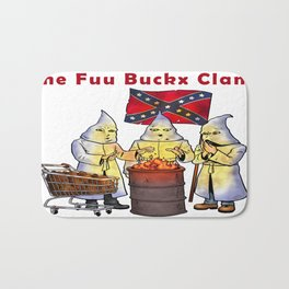 The Fuu Buckx Clan Bath Mat