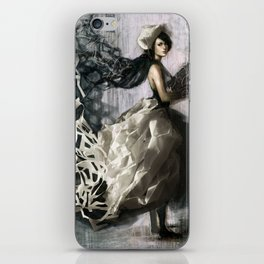 Paperdress iPhone Skin