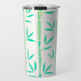 Bamboo Stems – Mint Palette Travel Mug