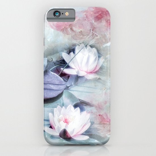SUMMER LILY POND iPhone & iPod Case