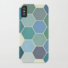 Shades of Blue Slim Case iPhone X