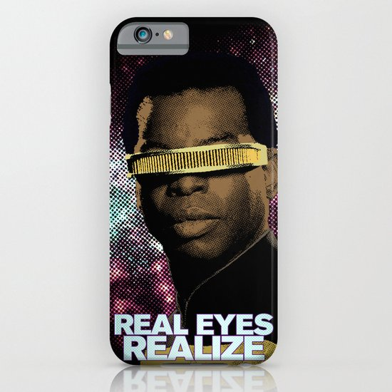 Geordi: Real Eyes Realize iPhone & iPod Case