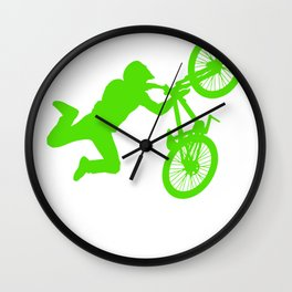 Dirt Bike Thats Awesome Dude Wall Clock