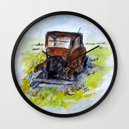 Once King Wall Clock