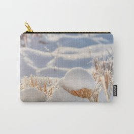 And finally Winter, with its bitin', whinin' wind, and all the land will be mantled with snow. Carry-All Pouch